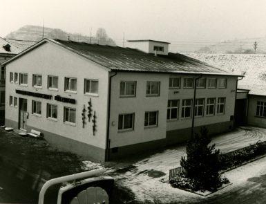 WG Bötzingen um 1940 Altes Foto des Gebäudes