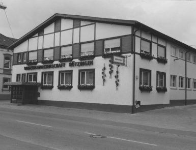 Historische Aufnahme der Winzergenossenschaft Bötzingen