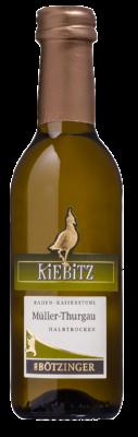 Kiebitz Müller Thurgau Weinflasche klein