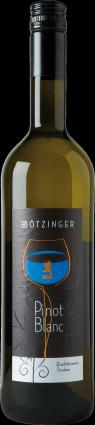 Weinflasche Pinot Weißwein trocken