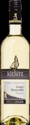 Kiebitz Grauer Burgunder Qualitätswein
