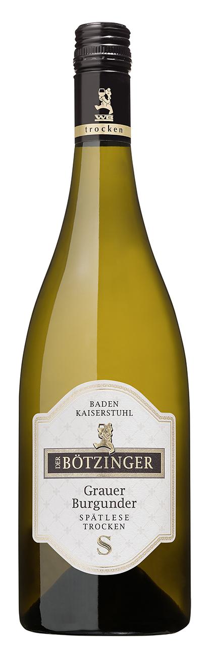 Weinflasche Bötzinger Wein Grauburgunder